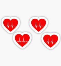 Heart Stickers Sticker