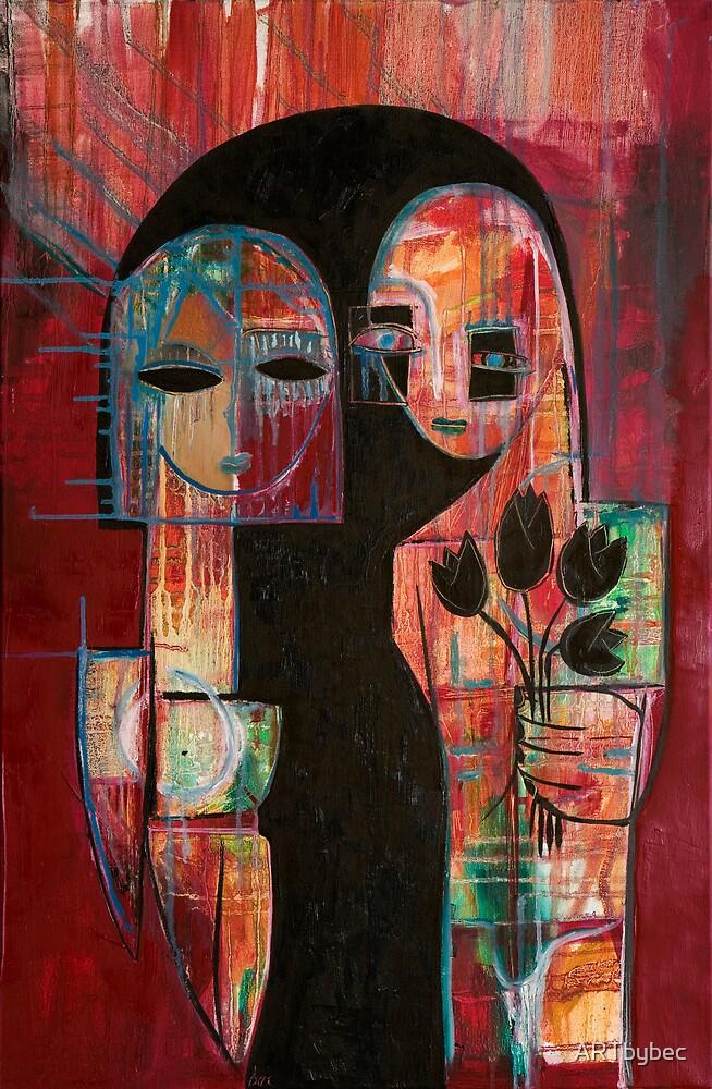 "ART by bec ""Black Tulip"" by ARTbybec"