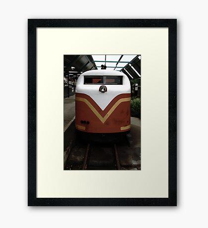 Post-war v.2 Framed Print