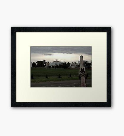 Post-war v.3 Framed Print