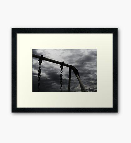 Post-war v.4 Framed Print