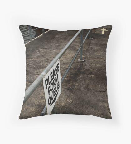 Post-war v.6 Throw Pillow