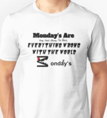 """Monday's Are Crap"" By: M2DISNEYLOVER Unisex T-Shirt"