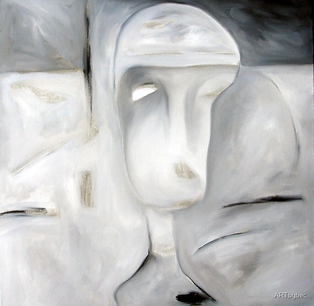 "ART by bec ""Sore Head"" by ARTbybec"