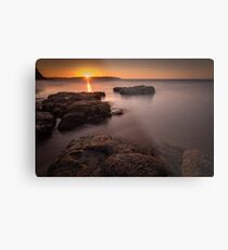 Sunset over Donegal Metal Print