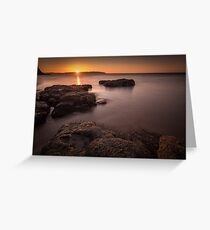 Sunset over Donegal Greeting Card