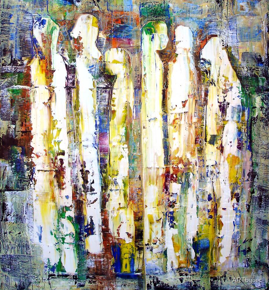 "ART by bec ""The Queue Quip"" by ARTbybec"
