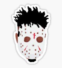 "21 Savage ""Issa Mask""  Sticker"