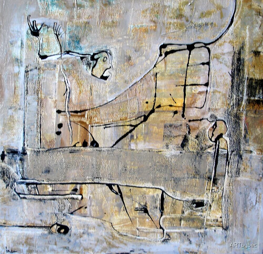 "ART by bec ""THEN SHE SCREAMED"" by ARTbybec"