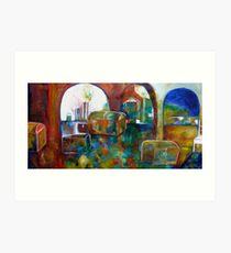 "ART by bec ""Treasure Room"" Art Print"