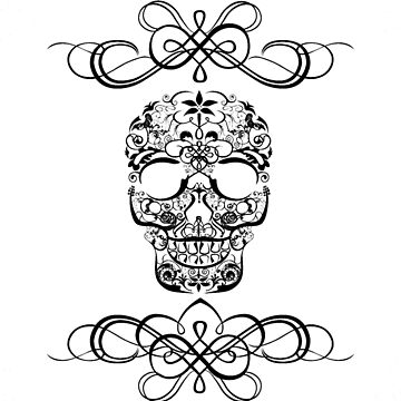 Tribal Anything Skull by jneves