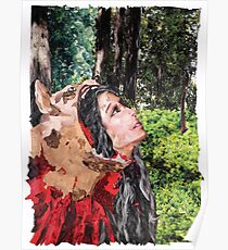 """Charles Perrault """"Little Red Riding Hood"""" Poster"""