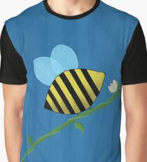 Bumble Bee on a Vine Graphic T-Shirt