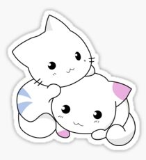 Kittens Playing Sticker