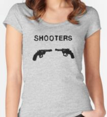 SHOOTERS Women's Fitted Scoop T-Shirt