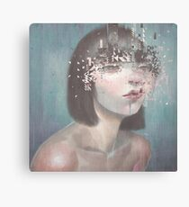 Glitch 02 Canvas Print