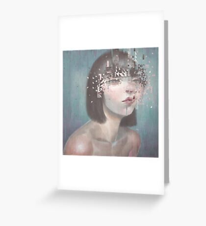 Glitch 02 Greeting Card