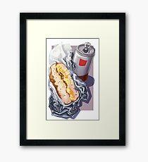 Bacon, Egg & Cheese Framed Print