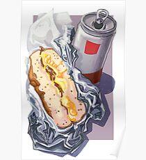 Bacon, Egg & Cheese Poster