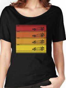 Retro Back To The Future Women's Relaxed Fit T-Shirt