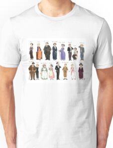 Downton Abbey portraits Unisex T-Shirt