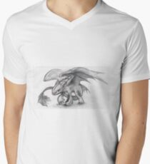 Toothless Pencil Drawing T-Shirt