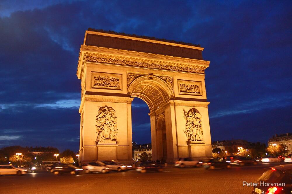 Arc De Triomphe by Peter Horsman