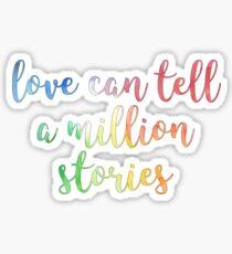 Love is Blind Sticker