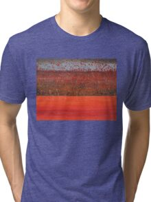 Hedgerow with Balloons original painting Tri-blend T-Shirt