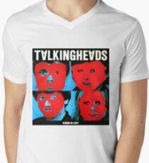 Remain in Talking heads Mens V-Neck T-Shirt