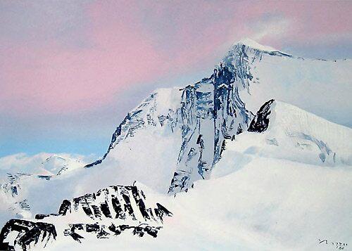 Himalayas mountains by Valeriy Grachov