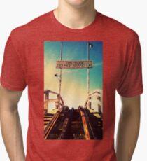 ...And Enjoy The Ride Tri-blend T-Shirt