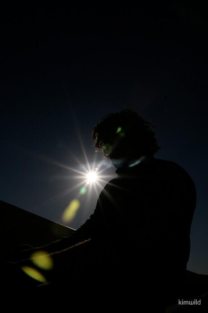Sun Peeking by kimwild