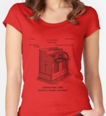 Cabinet Bed, Sarah E. Goode, Inventor Women's Fitted Scoop T-Shirt