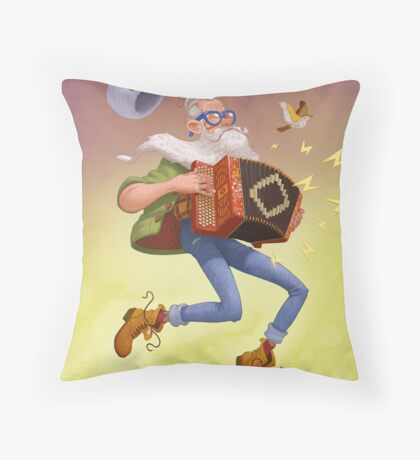 Spring! Throw Pillow