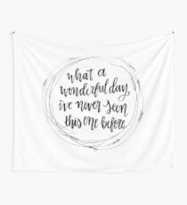 Wonderful Day Wall Tapestry