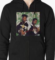 Eric B and Rakim - Paid in Full Zipped Hoodie