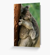 Best seat in the house Greeting Card
