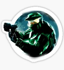 Halo - Combat Evolved (Oil Painting) Sticker