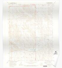 USGS TOPO Map Colorado CO Hale Ponds 450990 1971 24000 Poster