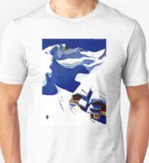 Austria Wunschheim Restored Vintage Travel Poster Unisex T-Shirt