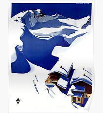 Austria Wunschheim Restored Vintage Travel Poster Poster