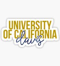 UC Davis - Style 13 Sticker
