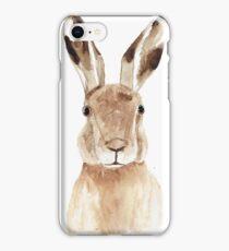 Wondering Hare iPhone Case/Skin