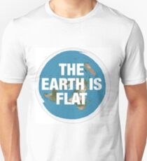 Flat earth research the truth T-Shirt