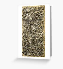 Jackson Pollock. One: Number 31 Greeting Card
