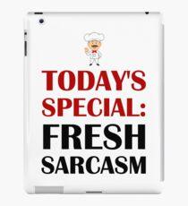 Todays Special Sarcasm iPad Case/Skin