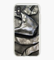 Pointe shoe  - ink iPhone Case