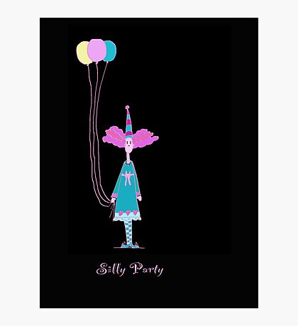 Silly Party  Photographic Print