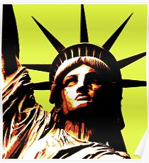 STATUE OF LIBERTY 3 Poster